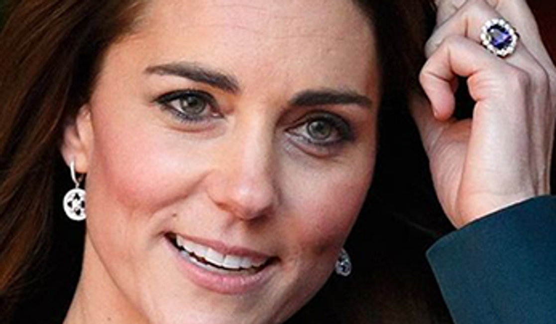 The History Behind Kate Middleton's Sapphire Engagement Ring