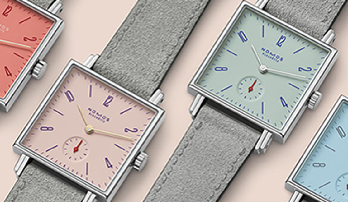 Colors of Summer: The Nomos Glashütte Tetra Petit Four