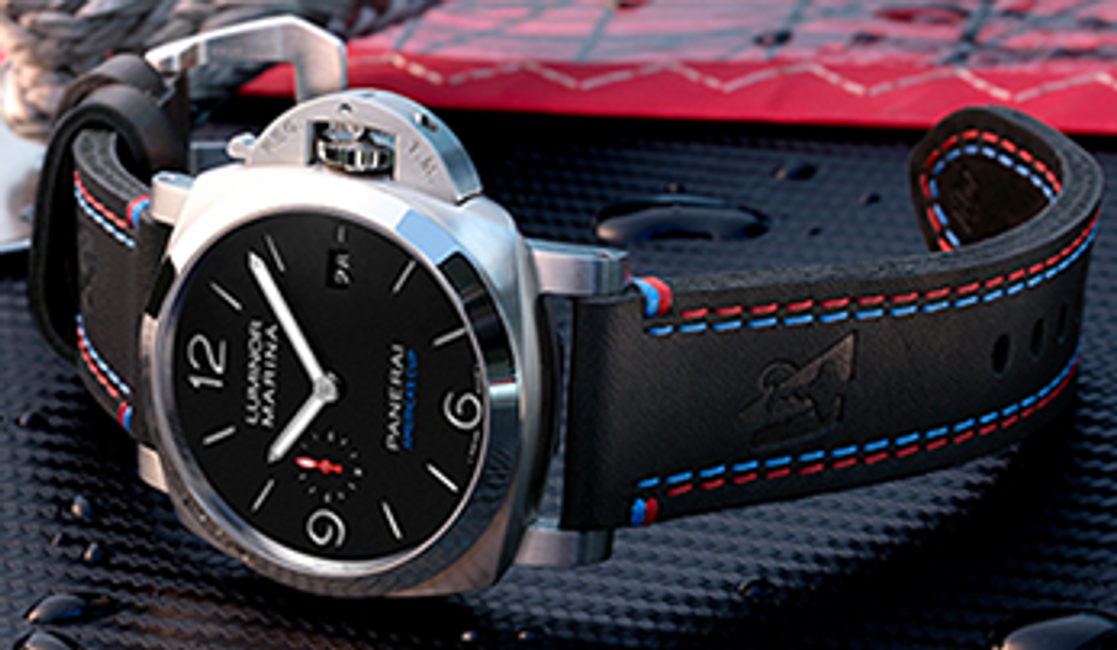 Bringing Together Two Legends of the Sea: Officine Panerai and the 2017 Americas Cup