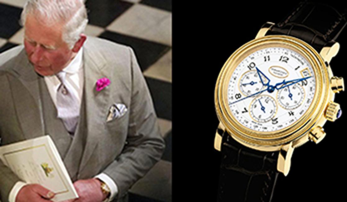 His Royal Attire: Prince Charles' Parmigiani Fleurier Toric Chronograph