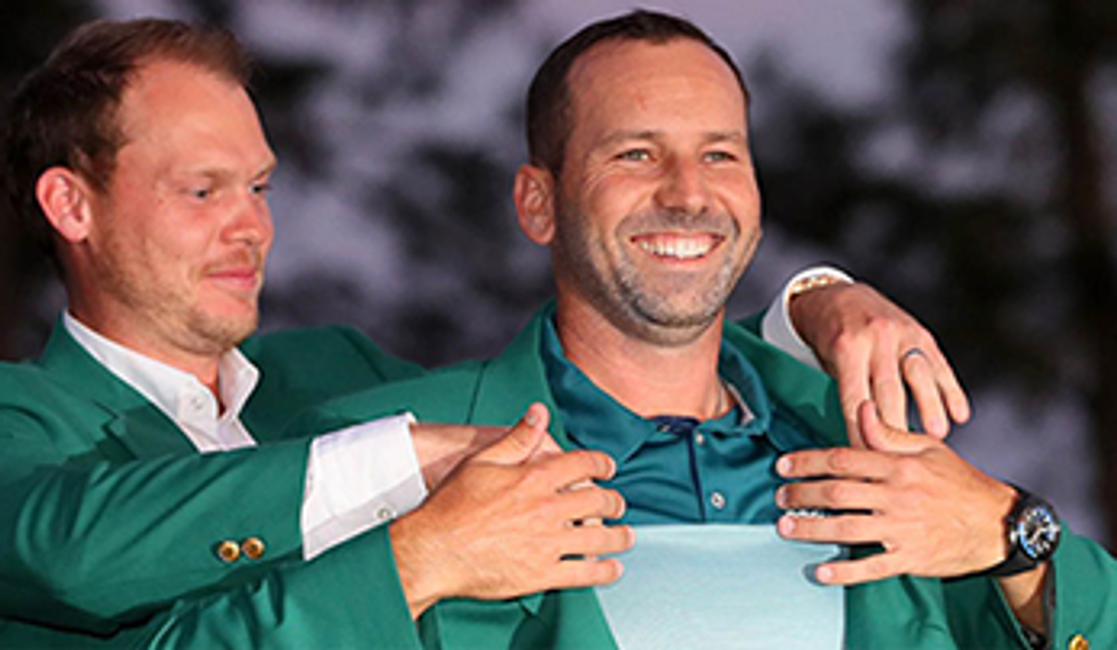 Accessorizing the Green Jacket: Sergio Garcia's OMEGA Deep Black Timepiece 4/25/2017 / In Timepieces