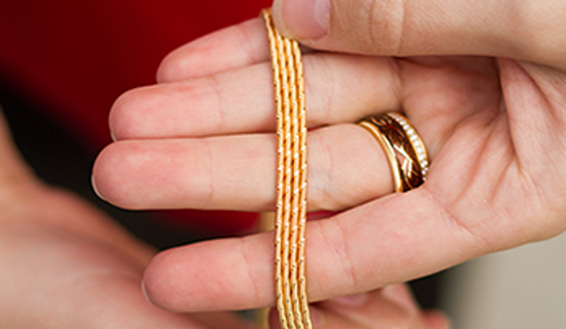 A Feeling Like Silk Made From Gold: The Wellendorff Rope
