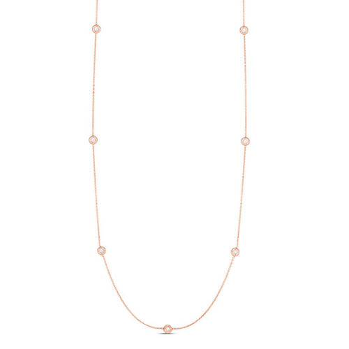 Necklace With Diamond Stations (#132885)