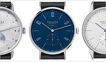 Get Your Resolution Done this Year with the Nomos At Work Collection