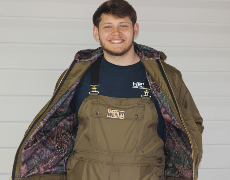 Godwin's  Briar Proof Lined Jacket w/hood
