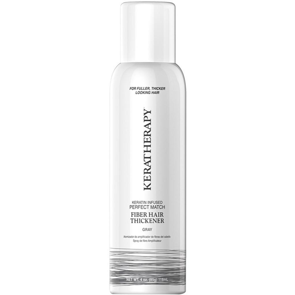 Perfect Match - Fiber Hair Thickener Spray - Grey 4oz