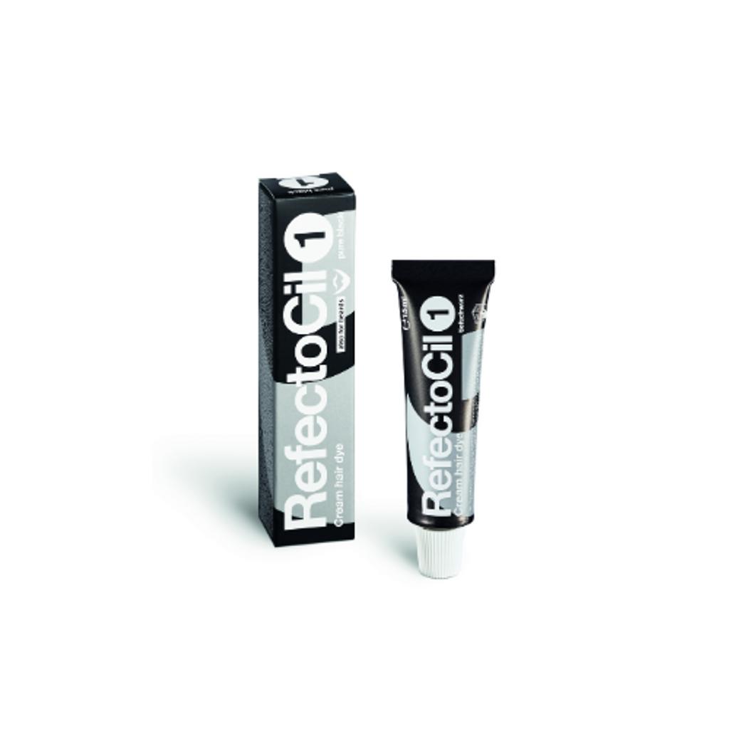 RefectoCil - Cream Hair Dye Pure Black #1