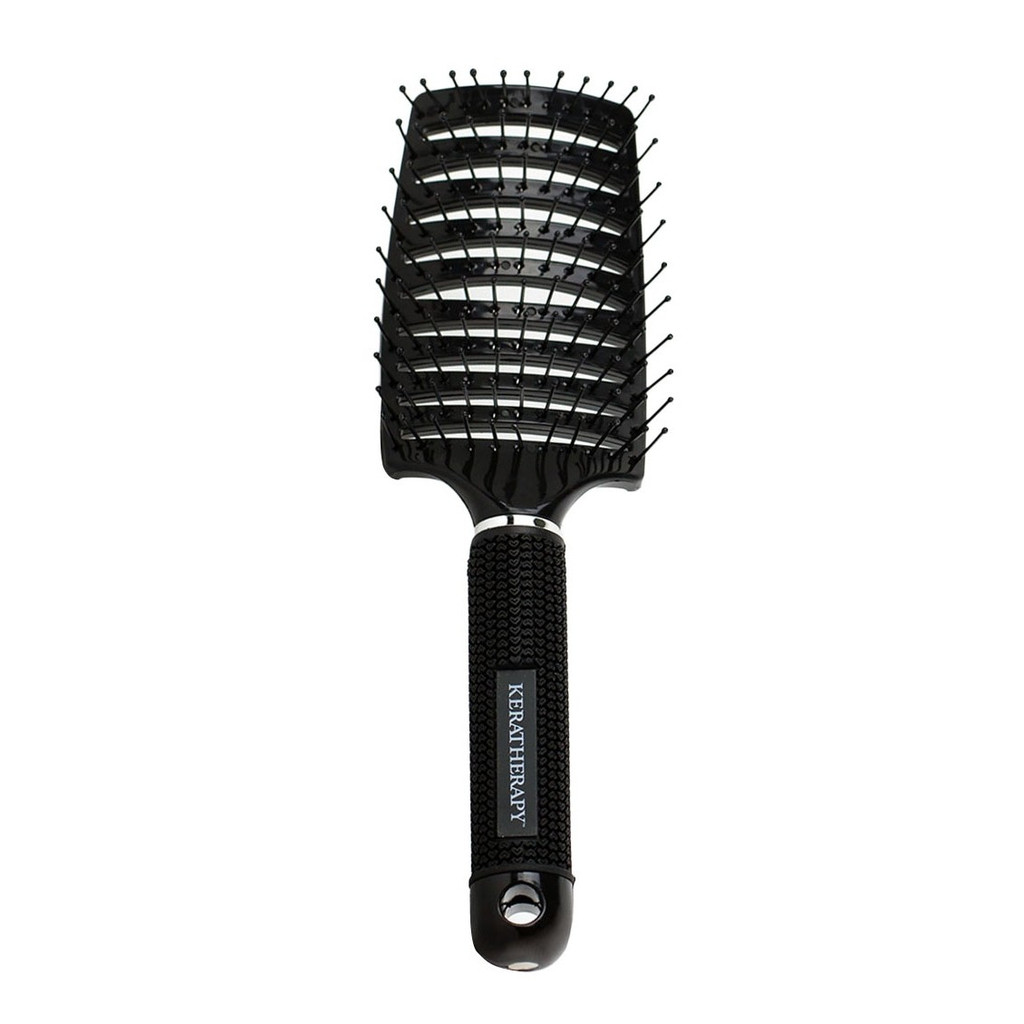 Keratherapy - Professional Curved Vent Brush Black