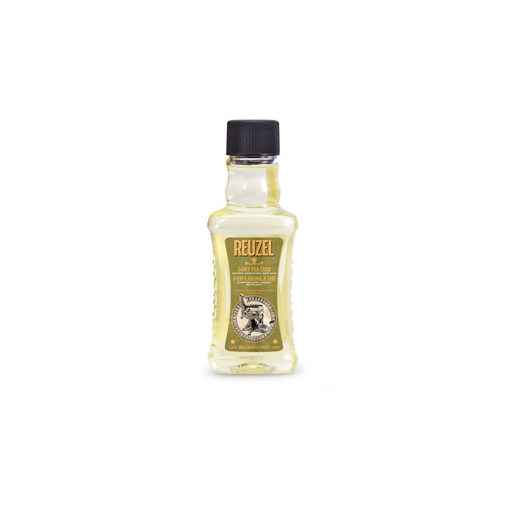Reuzel - 3in1 Tea Trea Shampoo 3.38oz