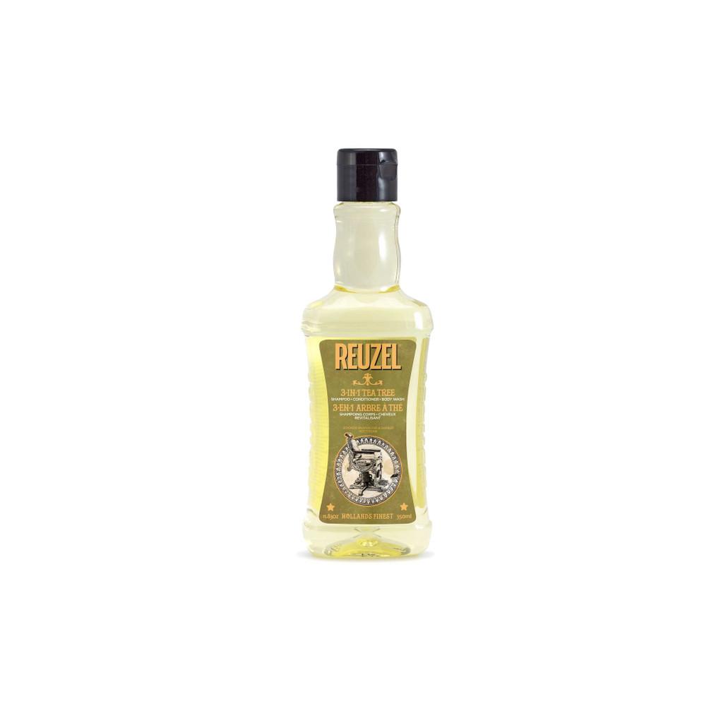 Reuzel - 3in1 Tea Tree Shampoo 11.83oz