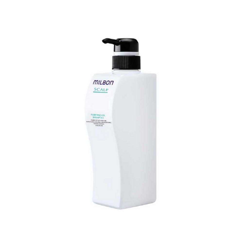 Milbon - Scalp Shampoo - Empty Pump Bottle 16.9 oz