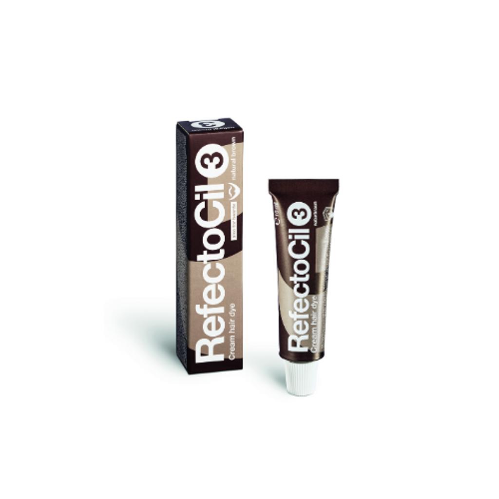 RefectoCil - Cream Hair Dye Natural Brown #3
