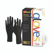 Product Club - Black Vinyl Glove Medium 90CT
