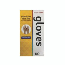 Product Club - Powder-Free Clear Gloves Large