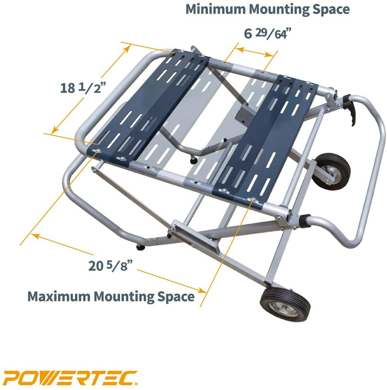 - MT4009 Rolling Foldable Table Saw Stand - POWERTEC