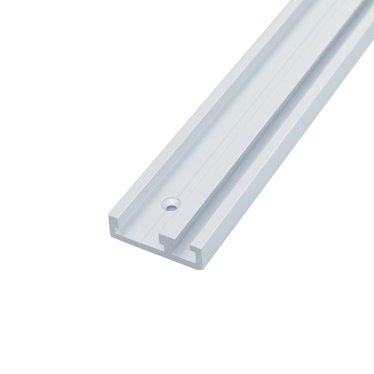 """32/"""" Dual Track Rail POWERTEC 71359 Aluminum Combo T-Track Miter Track for Woodworking"""
