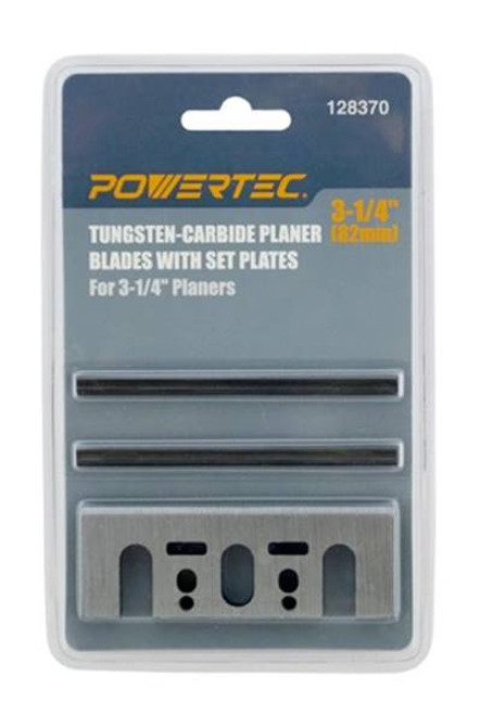 128370 Carbide Planer Blades with Set Plates