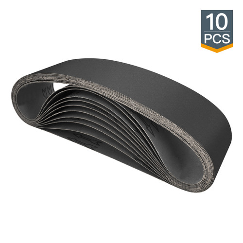 """4"""" X 36"""" Silicon Carbide Sanding Belt-10 pcs (more grits)"""