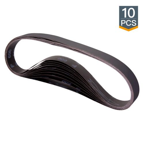 """1""""x 42"""" Silicon Carbide Sanding Belt-10 pcs (more Grits)"""