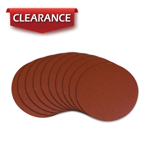 """10"""" A/O Adhesive Sanding Disc, 10 Pack (more grits)"""