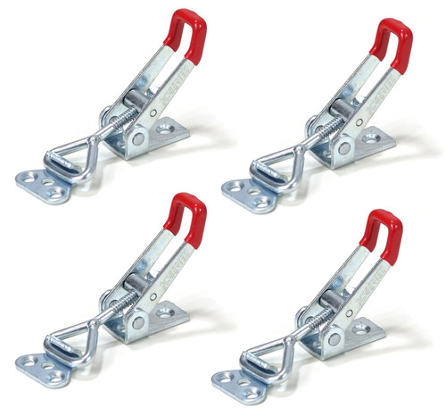 20311 Pull-Action Latch Toggle Clamp, 220 lbs Capacity, 4001, 4 Pack