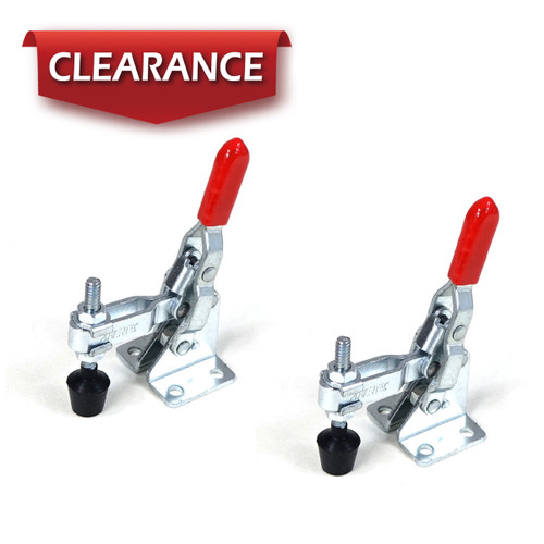 20313 Vertical Quick-Release Toggle Clamp, 110 lbs Capacity, 101A, 2 Pack