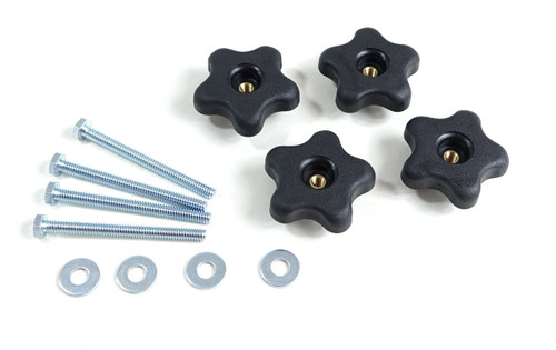 71070 T Track 5 Star Thru Knob Kits 12 PK