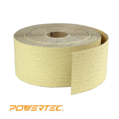 "2-3/4""x  25 Yard PSA Sanding Roll, Aluminum Oxide, Gold (more choices)"