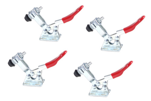 20321 Horizontal Quick-Release Toggle Clamp, 60 lbs Capacity, 201, 4 Pack