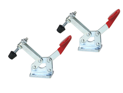20322 Horizontal Quick-Release Toggle Clamp, 66 lbs Capacity, 20300, 2 Pack
