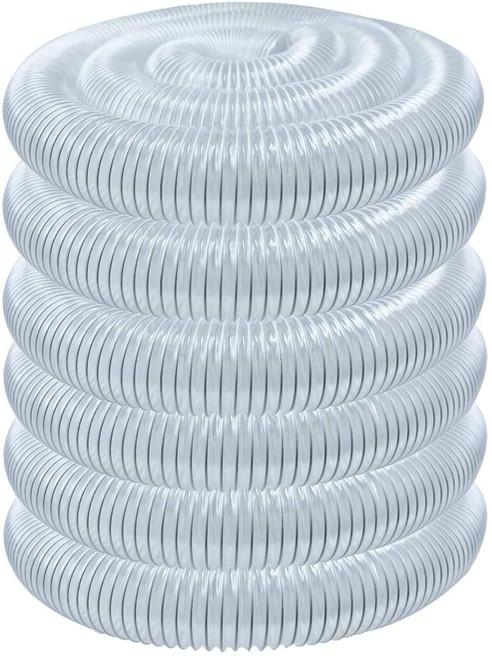 "70240 Flexible PVC Dust Collection Hose 2-1/2""x 50-Feet"