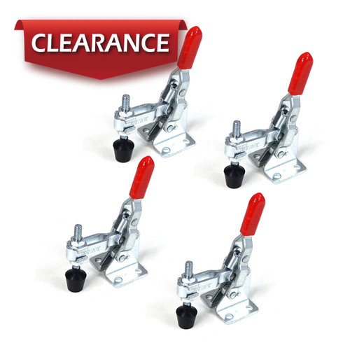 20330 Vertical Quick-Release Toggle Clamp, 110 lbs Capacity, 101A, 4 Pack