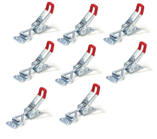20332 Pull-Action Latch Toggle Clamp, 220 lbs Capacity, 4001, 8 Pack