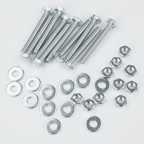 """71154 Hex Bolt Kit 1/4""""-20 x 2""""(Nut and Flat Washer included)"""