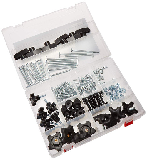 "71127 T-Track Jig Kit 1/4""-20, 128 pcs"