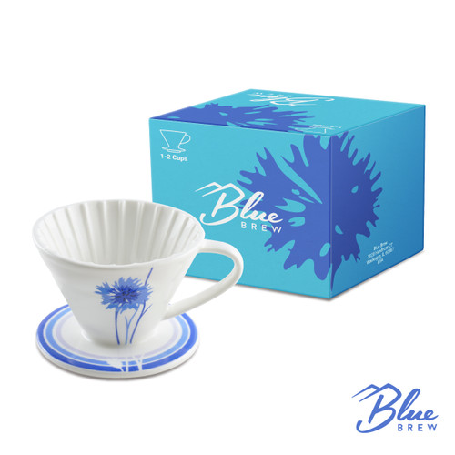 Ceramic Coffee Dripper Cornflower