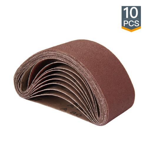 "2-1/2"" x 14"" Aluminum Oxide Sanding Belt-10 pcs (more Grits)"