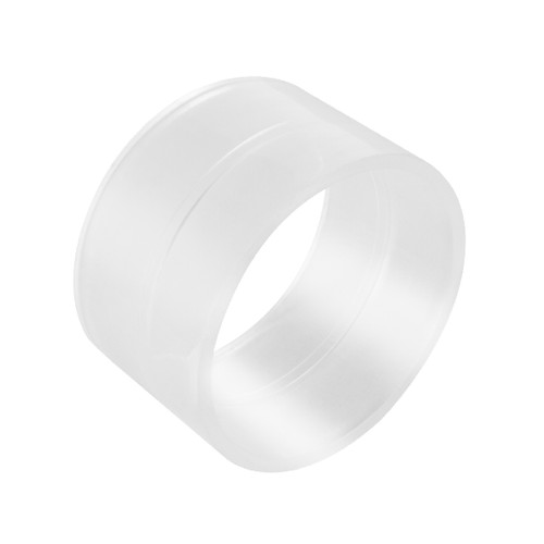 """70234 Pipe Coupling 2-1/2"""" Clear"""