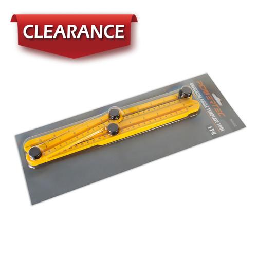 80002 Universal Angle Template Tool-Optimized Angle-izer Tool, ABS, Yellow