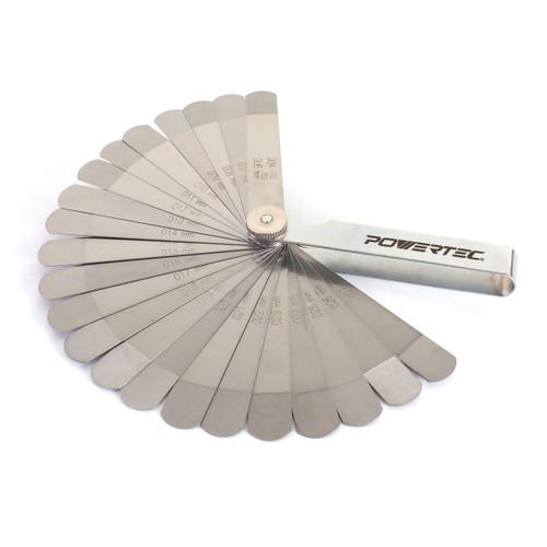 Powetec 22 Blade Go-No-Go Feeler Gauge