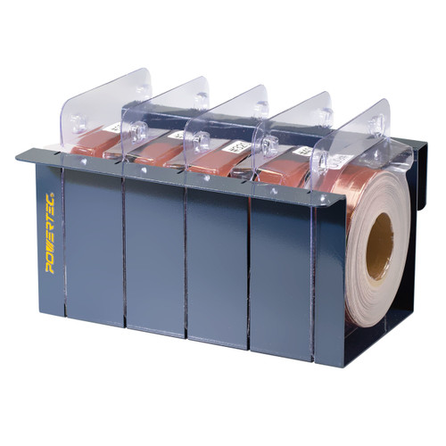 4RA2101 Sandpaper Multi Roll Pack in Sturdy Metal Box| AO Abrasive