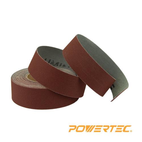 "Powertec Aluminum Oxide Sanding Roll-1""x 20 Foot (more choices)"