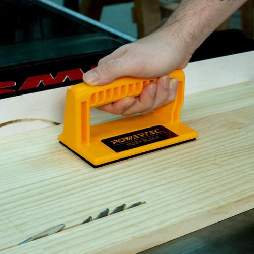 Deluxe Push Block Ergonomic Handle with Max Grip