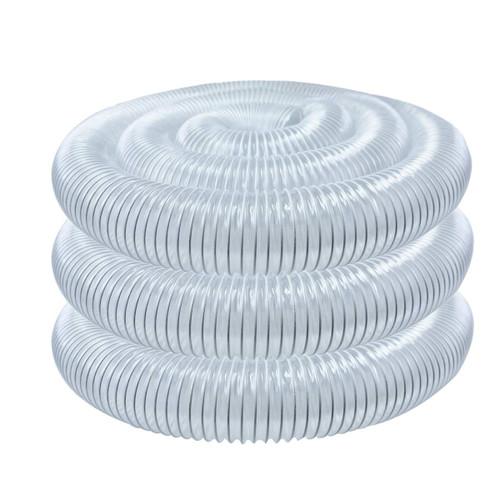 "Powertec Flexible PVC Dust Collection Hose (6"" x 20 Feet)"