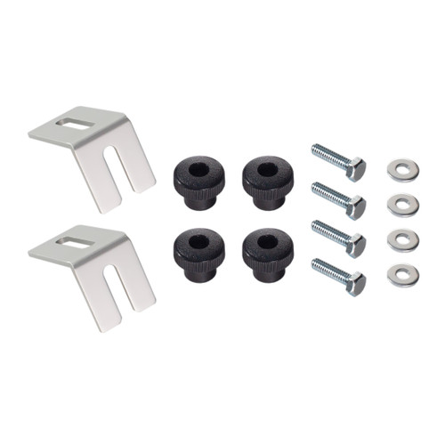 Powertec Multi-Track Bracket, Hex Bolt & Knob Kit