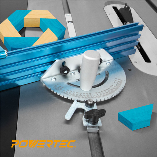 71391 Precision Miter Gauge System (Multi-track Fence with 27 Angle Stops)