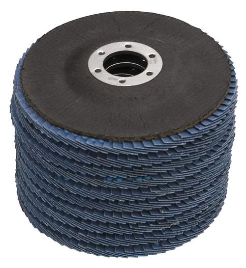 """Zirconia Angle Grinder Flap Disc 4-1/2""""x 5/8"""", 10 PK (more choices)"""