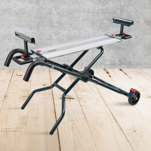 MT4010 Portable Edition-Dual Position Miter Saw Stand with Wheels