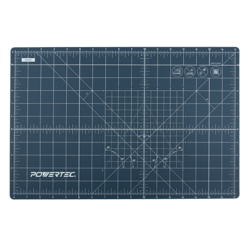 61001 Self Healing Rotary Cutting Mat with Grid, Triple Layer Surface