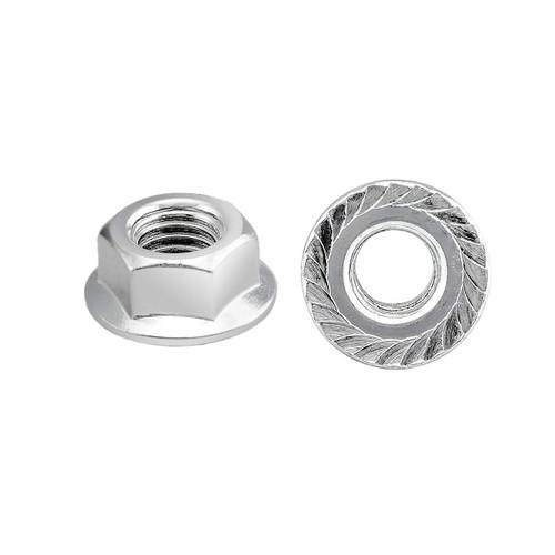 Serrated Flange Hex Lock Nuts-Metric series, 25PK (more size)